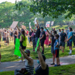 Amory Park Brookline BLM Protests